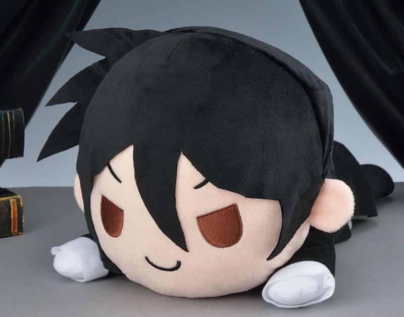 Oyuncaklar ve Hobi Ürünleri'ten Filmler ve TV'de Anime Kuroshitsuji Peluş oyuncak bebekler SEGA Hakiki Siyah Butler Kitap Sirk Sebastian Michaelis rakamlar yalan serisi yastık oyuncaklar'da  Grup 1
