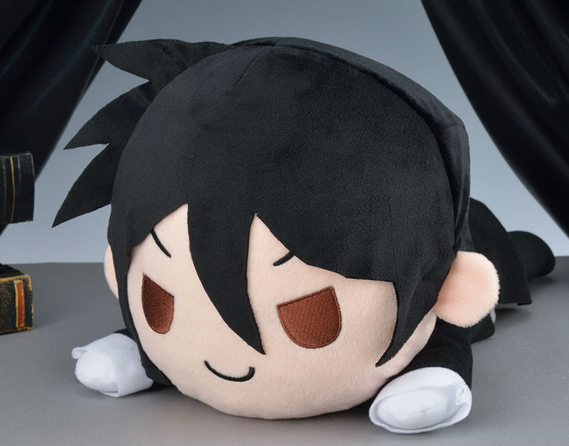 Anime Kuroshitsuji Plush doll toys SEGA Genuine Black Butler Book of Circus Sebastian Michaelis figures lying series pillow toys