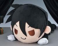 Anime Kuroshitsuji ewidencyjna Cyrk Pluszowe lalki zabawki SEGA Oryginalne Kuroshitsuji Sebastian Michaelis figury leżącego serii poduszki zabawki