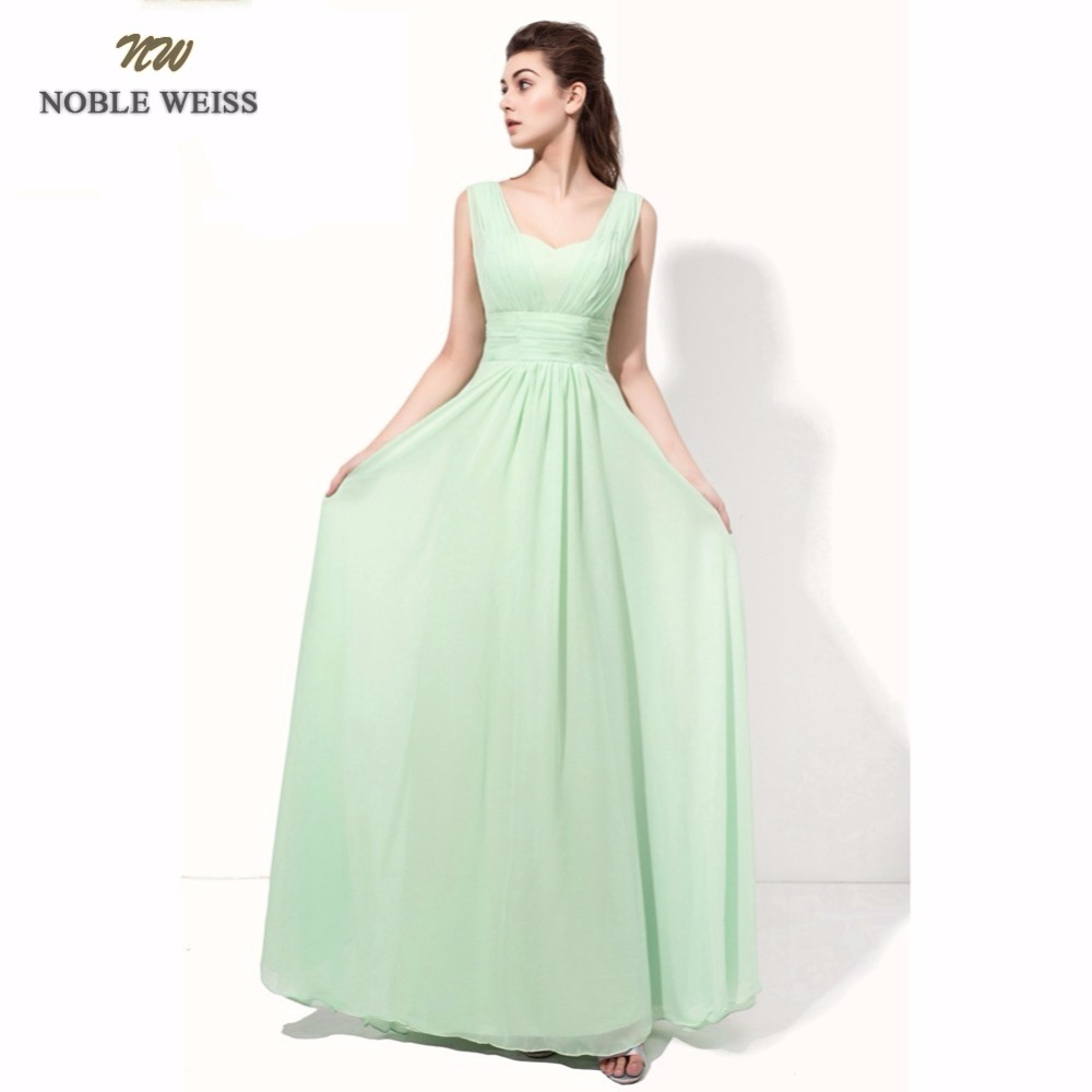 NOBLE WEISS Sexy   Evening     Dresses   A-line Pleat Long Special Occasion   Dresses   New Arrival Custom Made Chiffon Formal   Dresses
