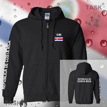 Costa Rica Costa Rican Tico CRI hoodies and sweatshirt jerseys polo sweat suit streetwear tracksuit nation fleece zipper flag CR
