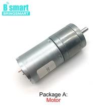 цена на Customized Speed Mini Motor DC 12 Volt 3V 6V 24V High Torque Low Speed Reversed Electric Motor Reduction Engine 12v Gear Motor