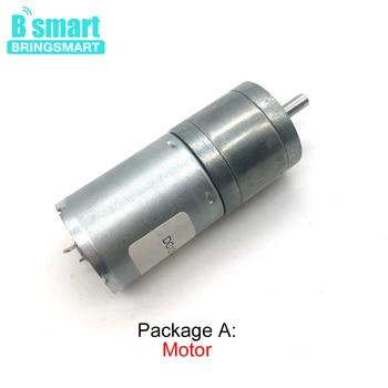 Jga25 370 Mini Motor Dc 12 Voltios 3 V 6 V 24 V Alto Torque Baja Velocidad Invertida Reduccion Del Motor Electrico Motor De Engranaje De 12 V