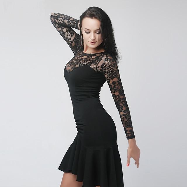 33ce3517827c black latin dance dress fringe women latin dress dancing clothes Dancewear  dress latina salsa dress modern