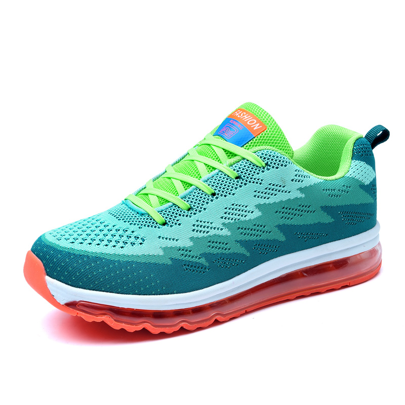 Hotsale New Mens 2017 Air Cushion zapatos de hombre Mens Athletic Outdoor Sport Shoes Trainers Running Shoes Size 39-44