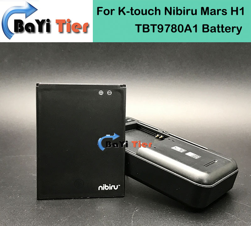 100 New For K touch Nibiru Mars H1 Battery Desktop Dock Wall Charger TBT9780A1 2000mAh Lithium