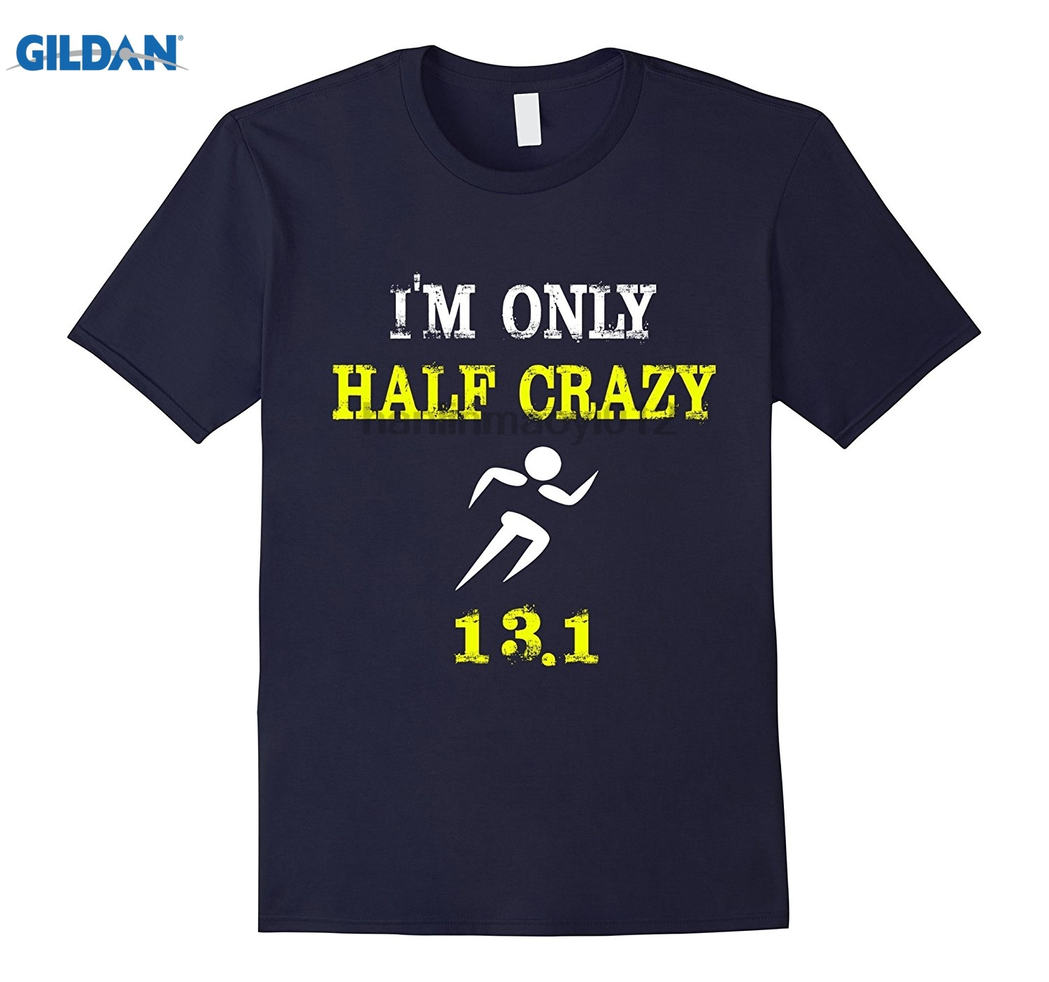 GILDAN Funny Shirt - Half Runner Womens T-shirt