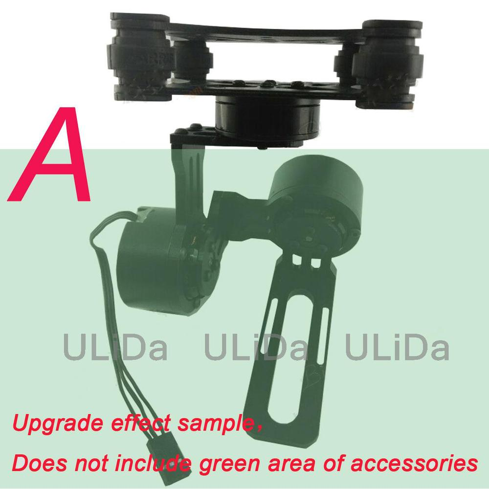 Gimbal Upgrade parts 2-axis  to 3 Axis Aluminum Mount with 2805 Brushless Motor