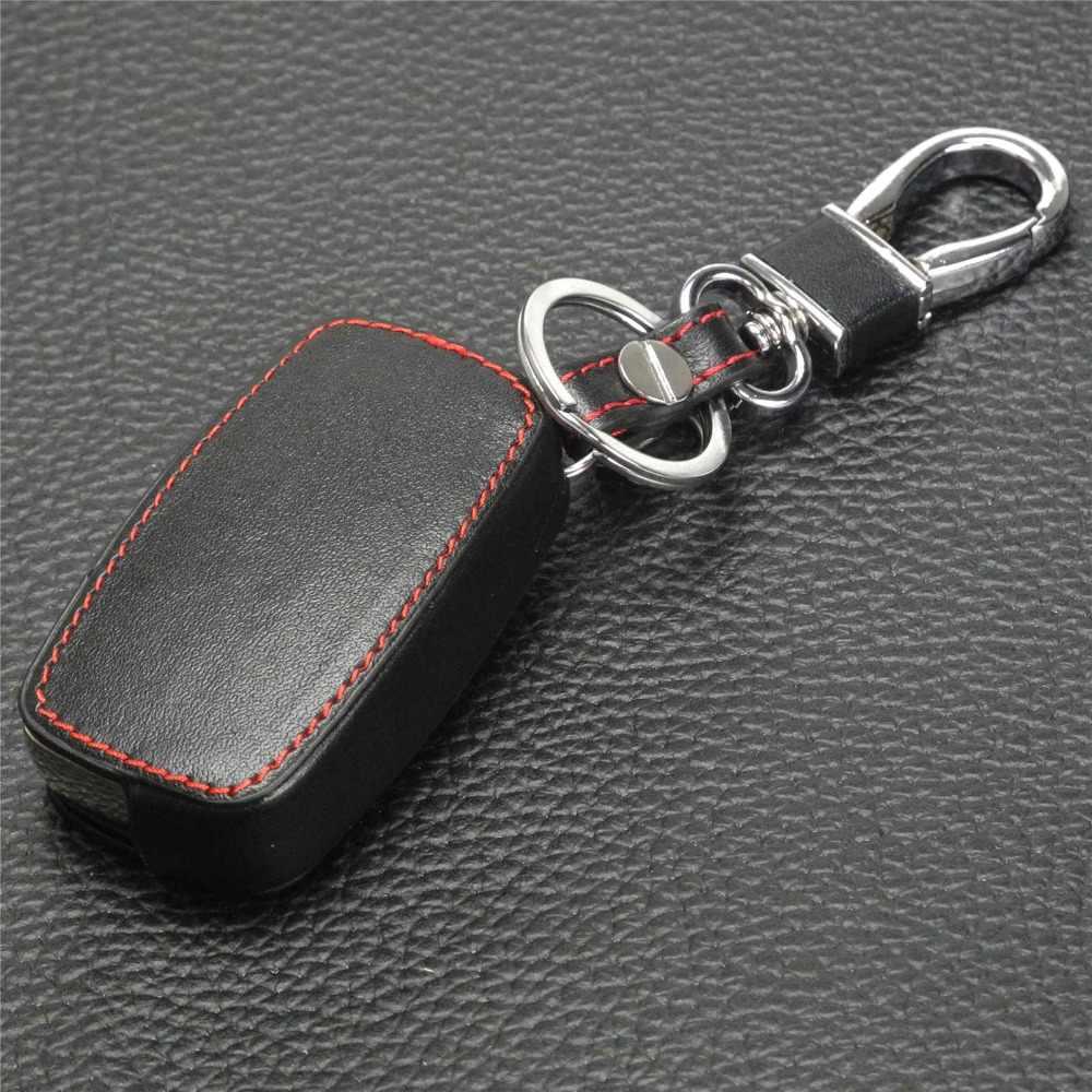 Jingyuqin araba anahtarlık kapak kılıf Audi A2 A3 A4 A6 A8 TT VW Passat Jetta Golf beetle 3BTN katlanır koruyun