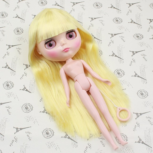 ICY Neo Blythe Doll Yellow Hair Regular Body
