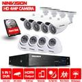 8CH CCTV Sistema di Sorveglianza 4MP 1080 p AHD DVR 8 pz Telecamere A CIRCUITO CHIUSO 4.0 Megapixel IR Avanzato Sistema di Telecamere di Sicurezza con 2 tb HDD