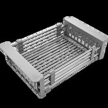 Кухонная раковина сливная корзина, кухонные фильтры из нержавеющей стали, выдвижной 315-465 мм, аксессуары для кухонной раковины
