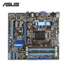 ASUS P7H55-M оригинальный использовать рабочего Материнская плата Intel H55 разъем LGA 1156 i3 i5 i7 DDR3 16 г uatx распродажа