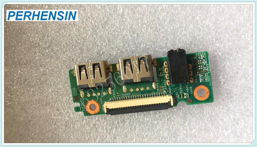 Подлинная для Dell для Inspiron 3552 3555 3551 3452 аудио USB плата 2MV5N
