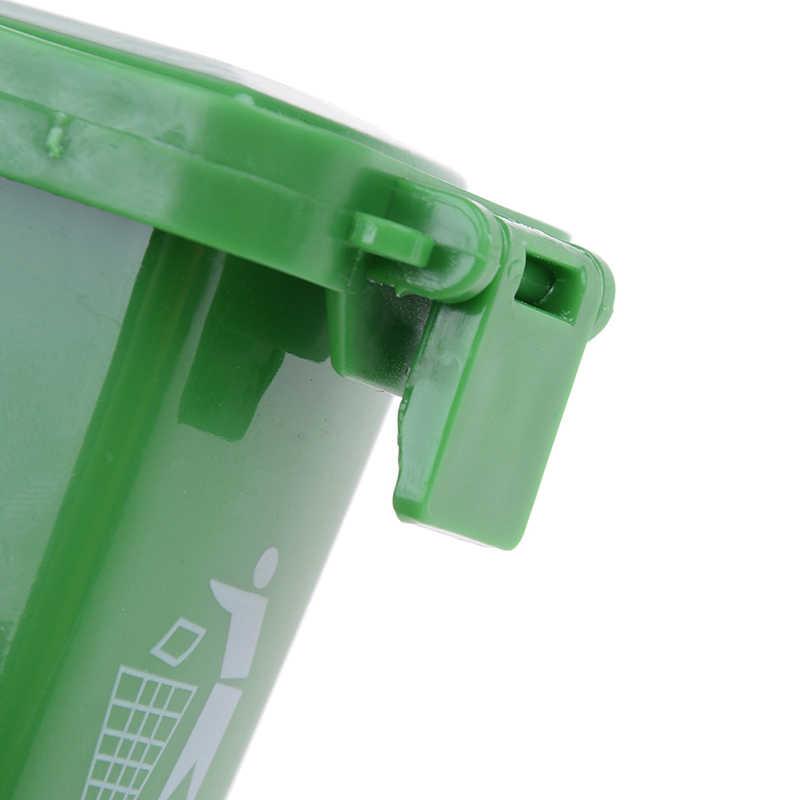 3 adet/paket Kawaii çöp çöp kutusu konteyner Gag oyuncak bir Set oynayan çocuklar için