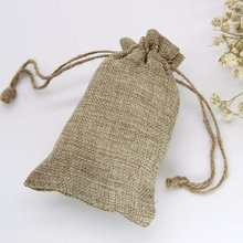 20pcs Christmas Thanksgiving Burlap Bags Wedding Party Jewelry Favor Gift Candy Pouch Burlap Sacks for Arts Crafts Presents(China)