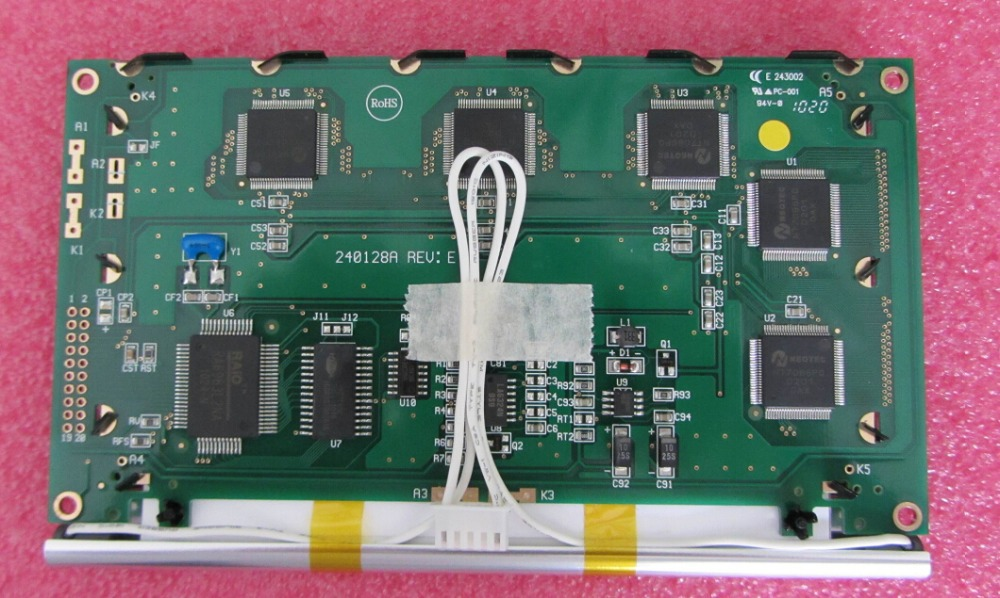 new P128GS24Y 1 professional lcd sales for industrial screen