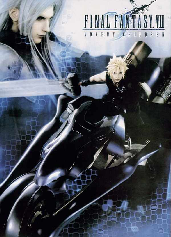 Final Fantasy Vii Anime Sephiroth Cloud 90 60cm Wall Scroll Poster 20192