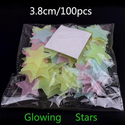 HTB10wUfQVXXXXbIXpXXq6xXFXXXo 100pcs Fashion Wonderful Solid Stars Moon Glow in the Dark For Bedroom