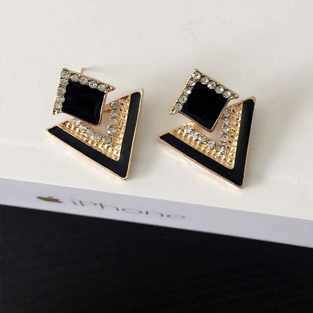 64364dc72c1a8 Big Black Earrings For Women Cute Gold Men Pokemon Acrylic Fashion Jewelry  Earrings India Bohemian Earing Stud Earrings Brincos
