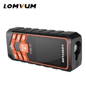 Image 3 - LOMVUM Laser télémètre LV66U Auto niveau Distance mètre analyse électronique Instrument de mesure télémètre 40m 80m 100m120m expédition rapide locale
