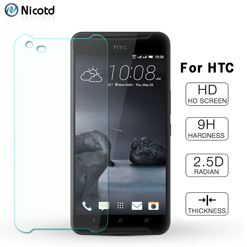 9H Protector Glass For HTC Desire 12s Tempered Glass For HTC One M9 Plus Desire 628 825 630 530 625 Screen Protective HD Film