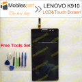 LCD Screen for LENOVO K910 100% Original Replacement Accessories LCD Display +Touch Screen for LENOVO K910 Smartphone