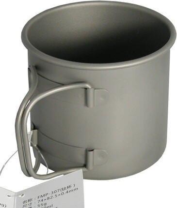 Огонь Клен Открытый отдых чистый Титан чашка 330 мл fmp-307 55 г Портативный Бутылки для воды Кружка Бесплатная доставка