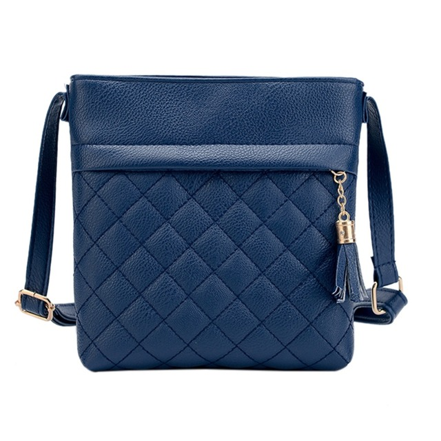 Mini Tassel Bag Messenger Bags Lattice Ladies Clutch Crossbody Bags Soft PU Leather Handbag Bags for Women 2019 Sac a Main Femme 1