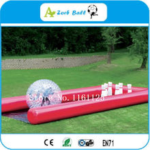 Free Ship Inflatable Bowling Ball For Human Bowling Pins giant Inflatable Human Bowling Game Outdoor Human Bowling Sport(China)