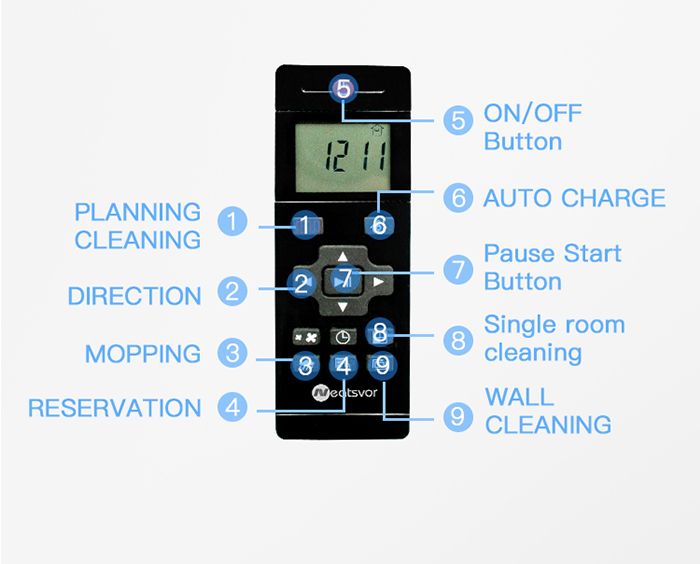 NEATSVOR X500 1800PA Robot Vacuum Cleaner for Wet or Dry Mopping with Map Navigation and Anti Collision Feature 33