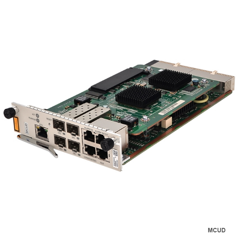 100% hua wei 4GE Uplink unit Main control board MCUD,Uplink optical interface board for Original MINI <font><b>MA5608T</b></font> GEPON OLT image