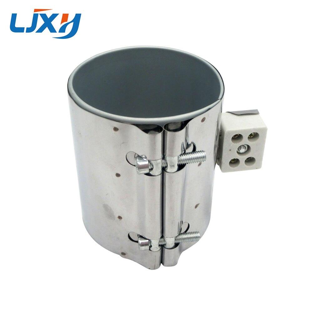 LJXH 85x60 мм 450 Вт 220 В слюда нагревательная Полоса нержавеющая сталь Керамика электрический нагревательный элемент для пластмассовое