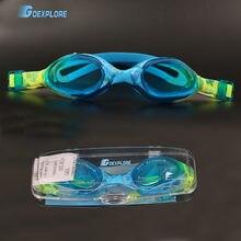 Очки для плавания goexplore детей 6 14 лет профессиональные