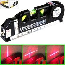 Brand new Multipurpose laser level line lasers Horizon Vertical Measure Tape Ruler Tool 18.5 x 6.2 x 2.8 cm стоимость