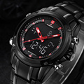 Men's Watches Top Brand Luxury Quartz Wrist Watches Men Full Steel Wristwatches Naviforce Relogio Montre Homme Reloj 2016