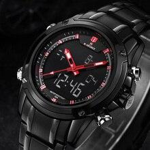 Relógios dos homens Top Marca de Luxo de Pulso de Quartzo Relógios Homens de Aço Completa Relógios Naviforce Relogio Montre Homme Reloj 2016