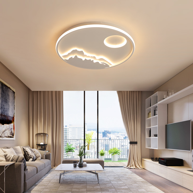 VEIHAO Best Popular Modern Led Chandelier for Living Room Bedroom Children's Room Adjustable Light RC Round Ceiling Chandelier free shipping best selling living room led ceiling light 200mm dia led chandelier
