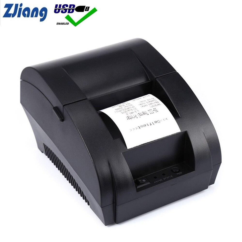 """מקורי Zjiang תרמית מדפסת מיני 58 מ""""מ USB POS קבלת מדפסת עבור Resaurant וסופרמרקט"""