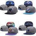 CN-RUBR Весна/Лето Мужчины Баскетбол Шапки Унисекс Snapback Caps Мода Хип-Хоп 16 Цветов Баскетбол Шапки