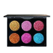 Diamond Golden Color Powder Glitter Eyeshadow Pallete Shimmer Glitter Eye Shadow Palette Glitter Eye Shadow Faced Cosmetics