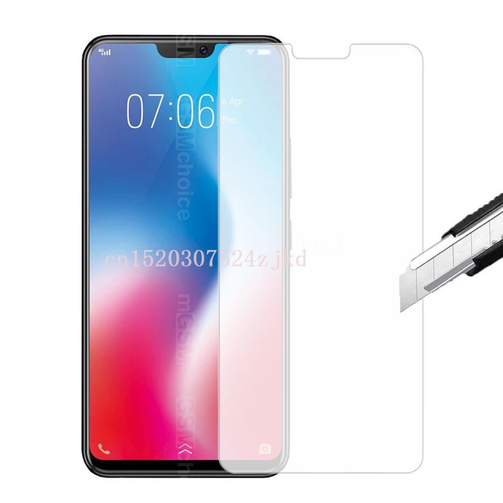 protective glass on For Vivo V9 6GB tempered glas screen protector phone protection For Vivo Z1/Z1I/Y81/Y83/X21I/Y75S film 2.5D