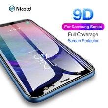 9D Tempered Glass For Samsung Galaxy A8s M10 M20 M30 J4 J6 J