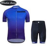 Wisdom Leaves 2017 New Designer Brand sky cycling t shirt bike shirt maillot ciclismo equipos cycling clothing ciclismo roupa