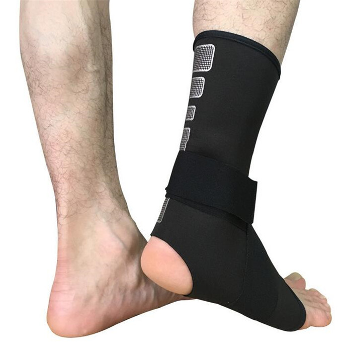 1 Pair Sports Safety Ankle Support Strong Ankle Bandage Elastic Brace Guard Support Sport Gym Foot Wrap Protection