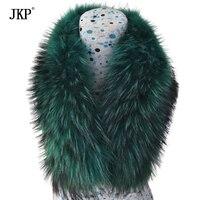 New Genuine collo di pelliccia di procione (Blu/Arancio/Rosa/Verde) sciarpa spedizione gratuita