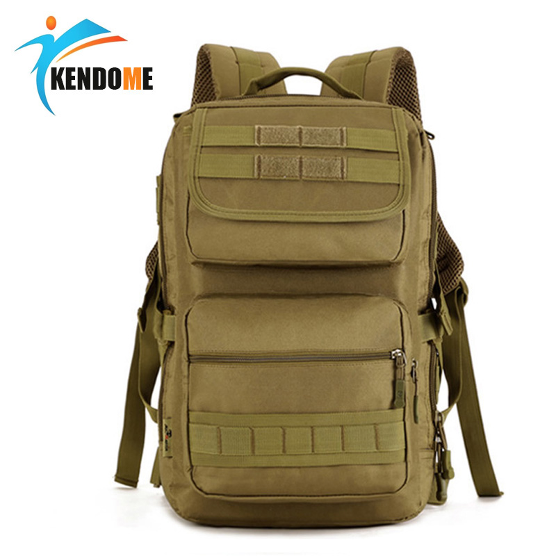 K&D Hot Military Tactical Backpack Army Rucksacks Men Women Camouflage Outdoor Trekking Sports Bag Camping Hiking Bags 65l men outdoor army military tactical bag backpack large size camping hiking rifle bag trekking sport rucksacks climbing bags
