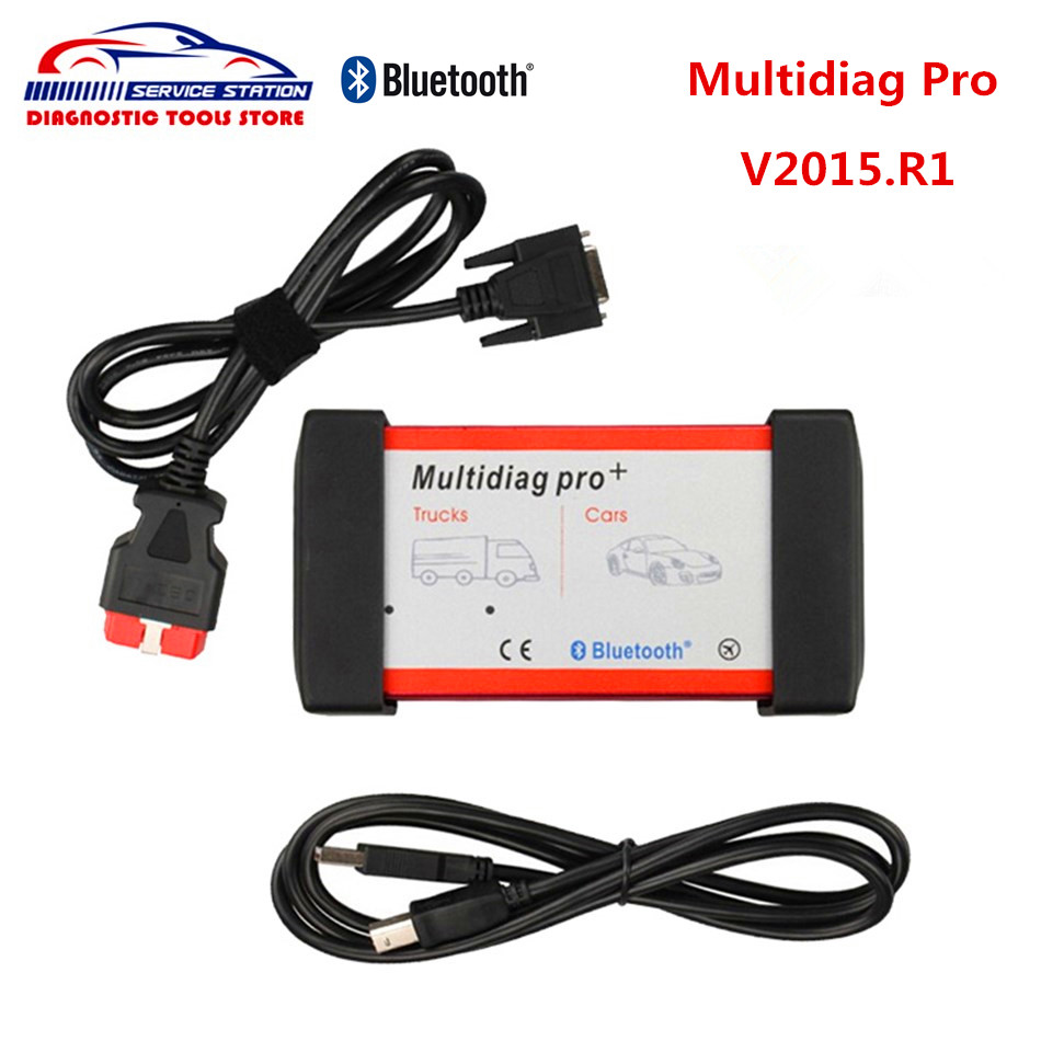 DHL free Latest Multidiag pro with Bluetooth New version 2015.1 TCS CDP New VCI for Cars/Trucks support Multi language new arrival new vci cdp with best chip pcb board 3 0 version vd tcs cdp pro plus bluetooth for obd2 obdii cars and trucks