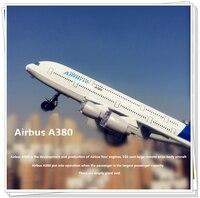 旅客航空機モデルエアバスa380ボーイング777音と光プルバック子供toysメタリック素材子供のようなギフト