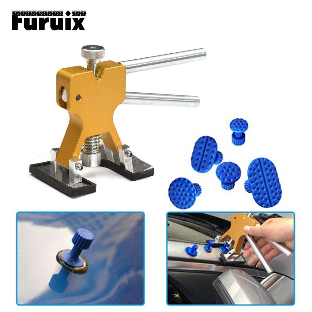 PDR Strumenti di auto kit di riparazione Paintless Dent Repair Tool di Rimozione Dent Puller Tabs per Grandine Danni rimuovere Strumento Mano
